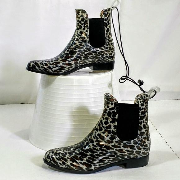 f5c19eeb2b780 Merona Shoes | Mwrona Sz 8 Booties Nwt Ankle Boots Animal Print ...